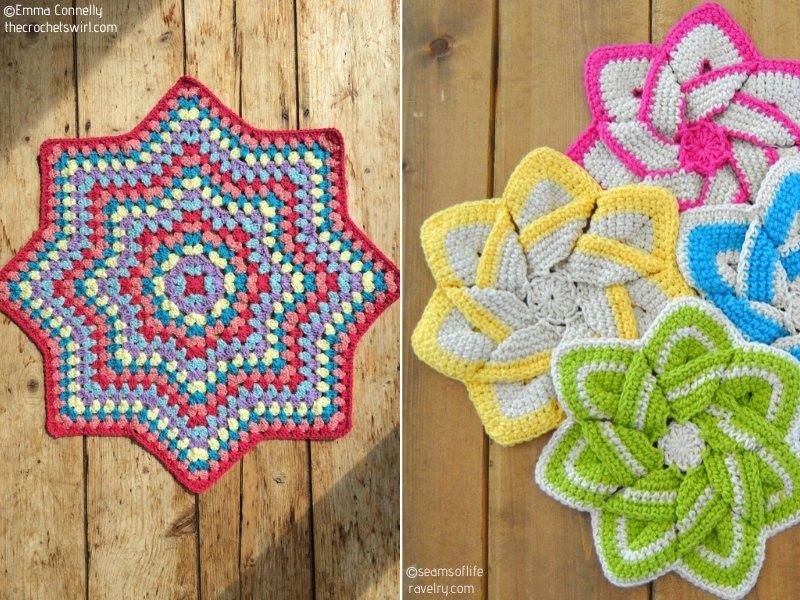 Stars Free Crochet Patterns