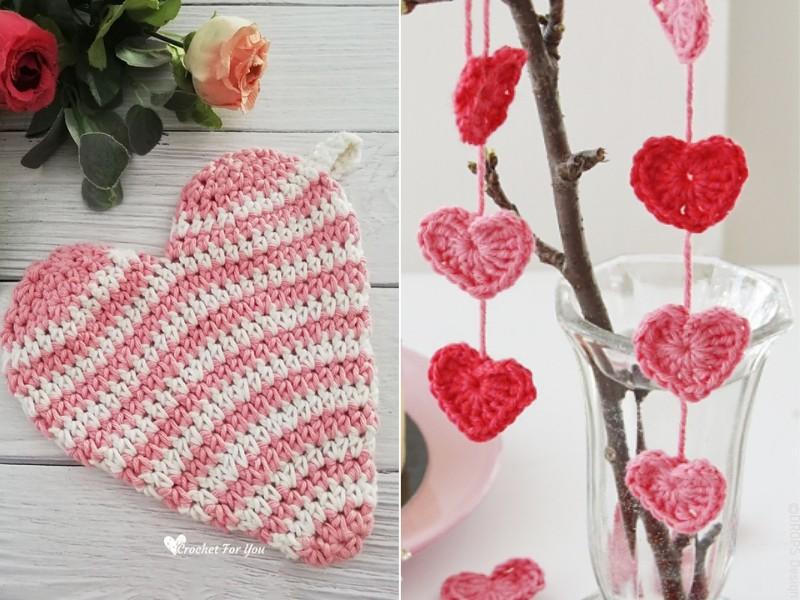 Valentine Home Decor Free Crochet Pattern