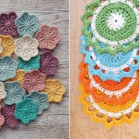 Lovely Face Scrubbies Free Crochet Patterns