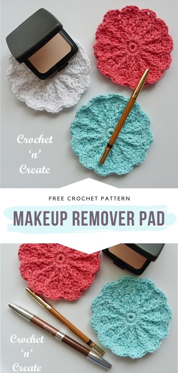 Crochet Makeup Remover Pad