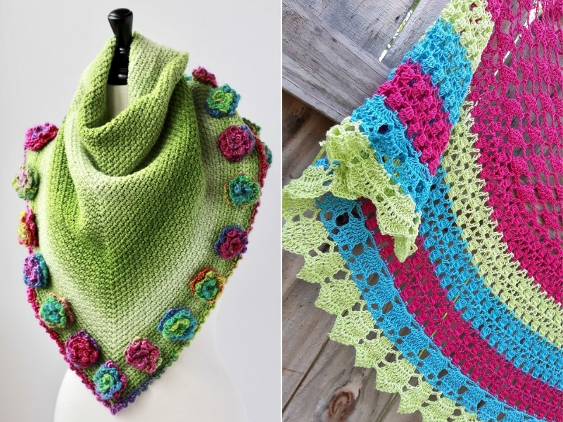 Beautiful Crochet Shawls Free Patterns