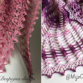Beautiful Lacy Shawls Free Crochet Pattern