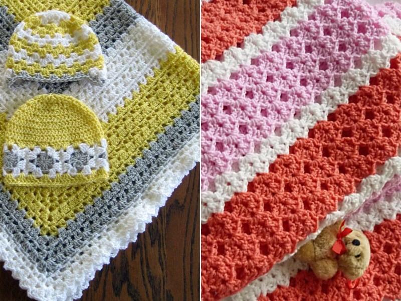 Crochet Baby Blankets Free Patterns
