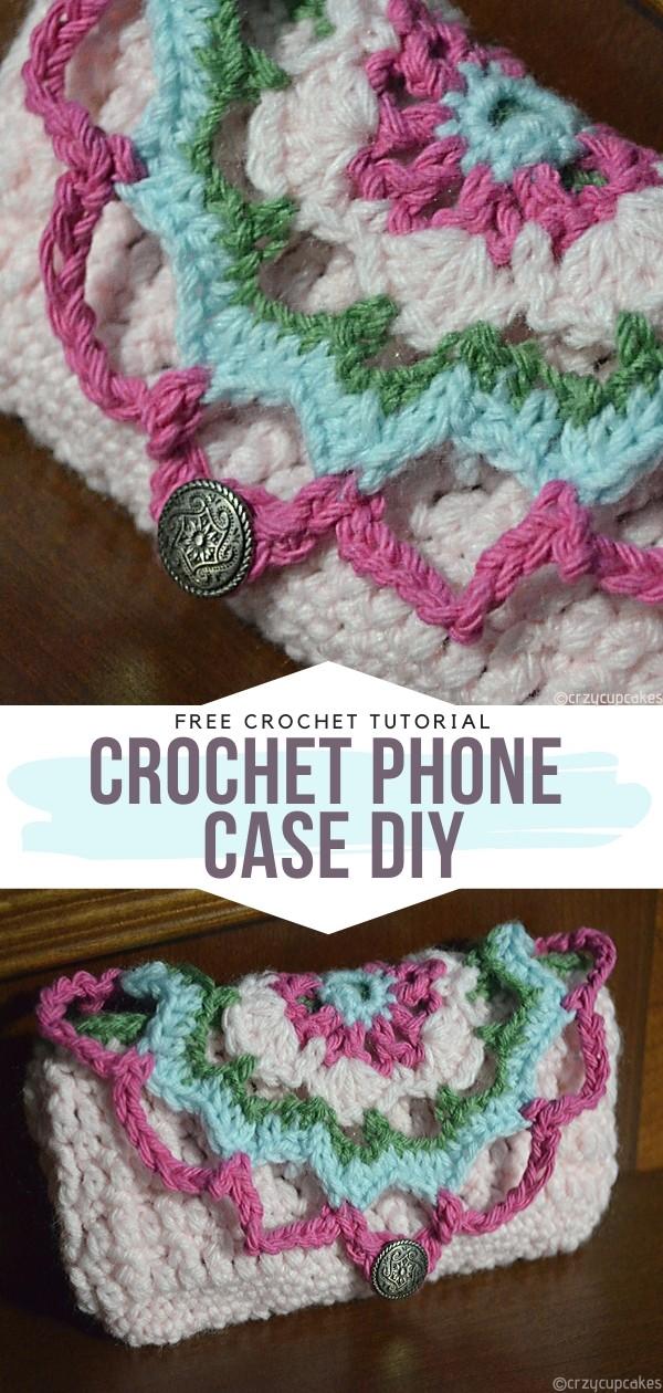 Crochet Phone Case DIY Free Crochet Pattern