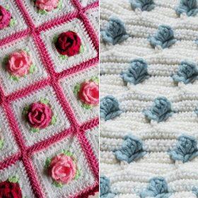 Crochet Rosebud Ideas Free Patterns