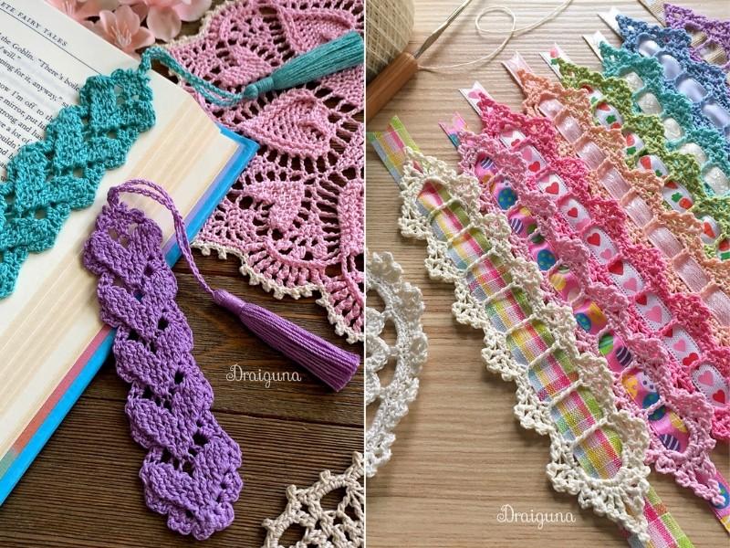 Decorative Bookmarks Free Crochet Patterns