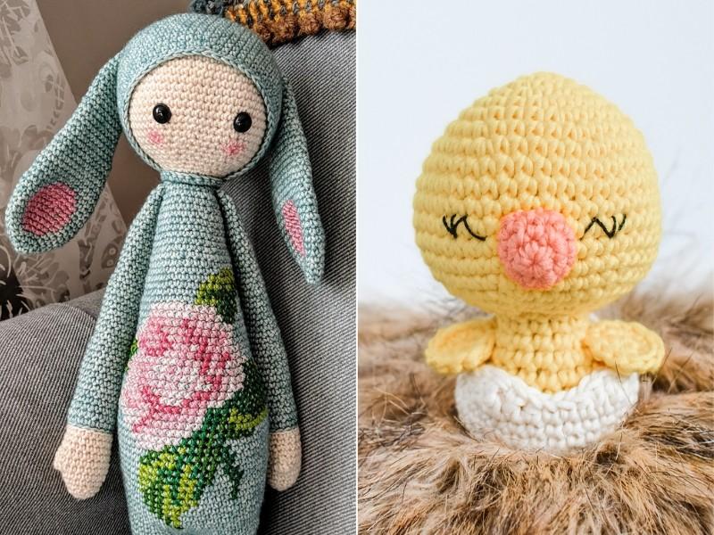 Easter Amigurumi Free Crochet Patterns