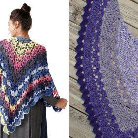 Elegant Crochet Shawls Free Patterns