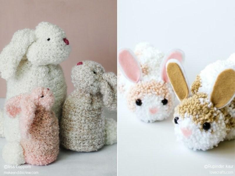 Fluffy Amigurumi Free Crochet Patterns