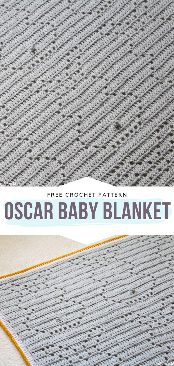 Oscar Baby Blanket Free Crochet Pattern