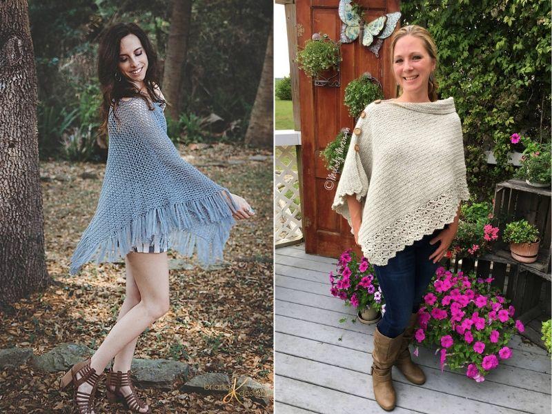 Spring Crochet Ponchos