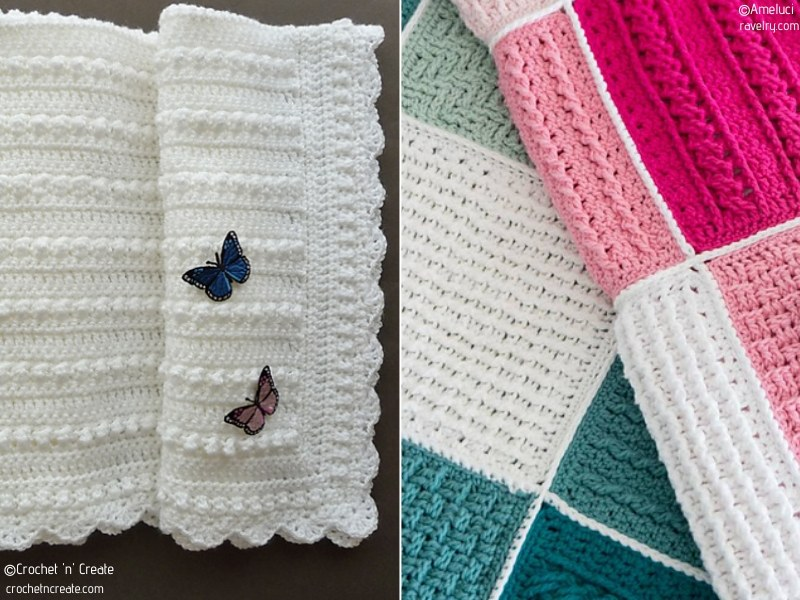Subtle Crochet Baby Blankets