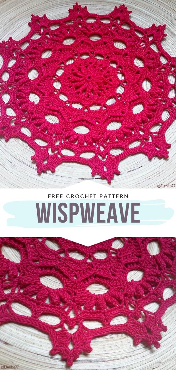 Wispweave Free Crochet Patterns