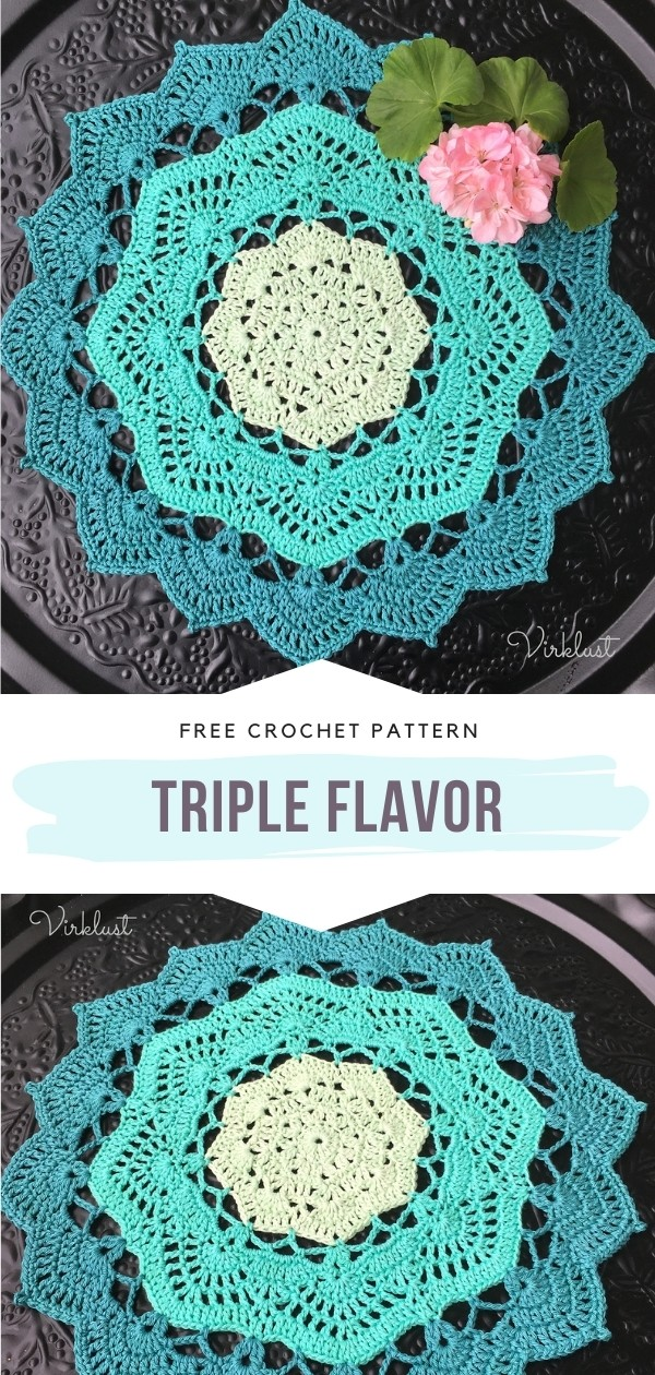Lacy Crochet Doily