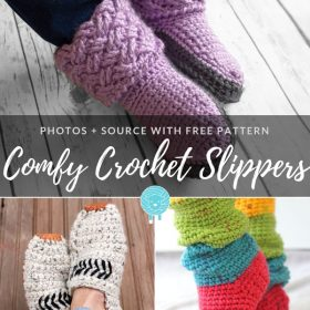 comfy-crochet-slippers-free-patterns