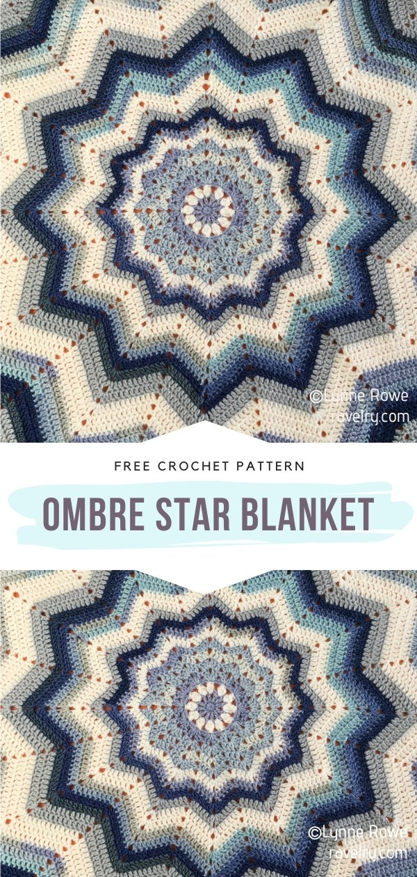 Crocheted Star Blanket
