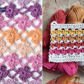 Crochet Lace Stitches - Ideas and Free Patterns