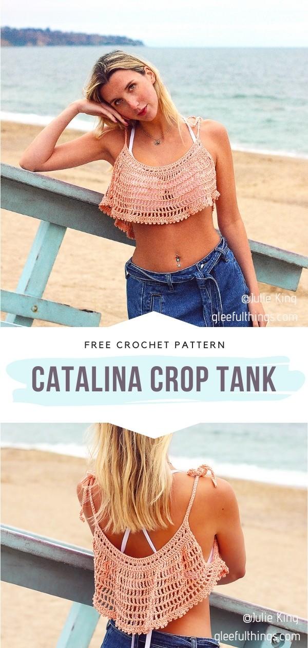 Crochet Crop Tank