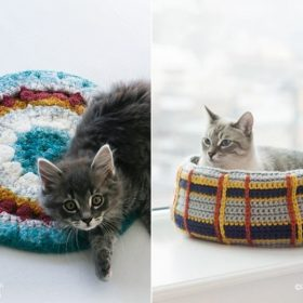 Awesome Crochet Ideas For Cats with Free Patterns