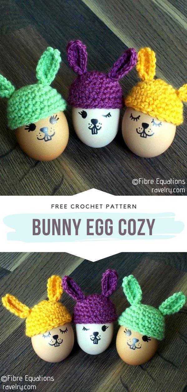 Crochet Bunny Egg Cozy