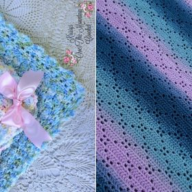 Cheerful Baby Blankets Free Crochet Patterns