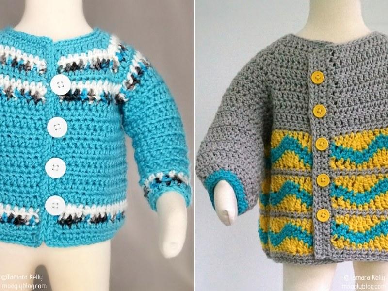 Crochet Baby Cardigans