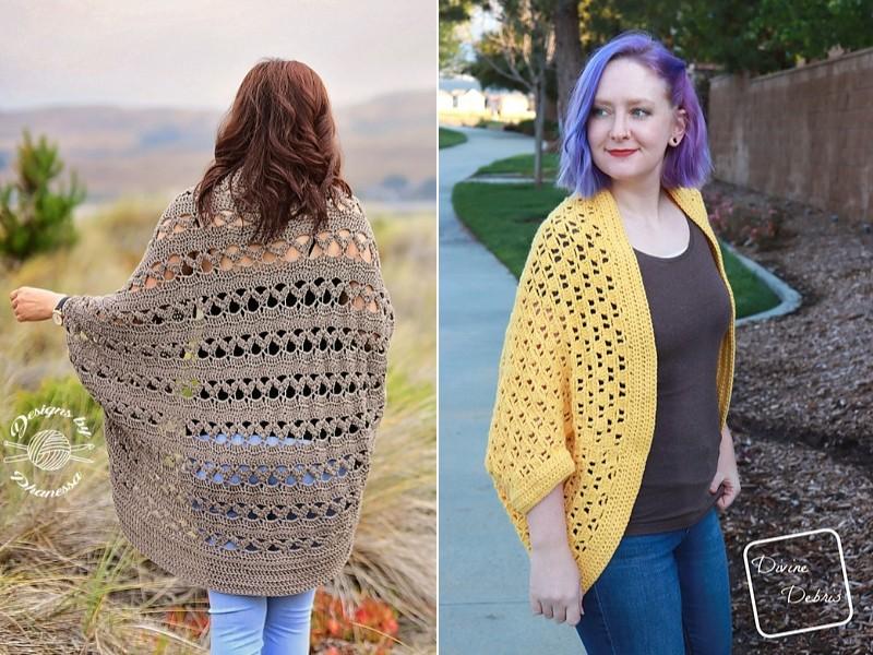 Crochet Lace Shrugs