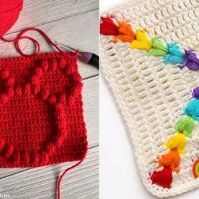 Crochet Puff Stitch Ideas (1)