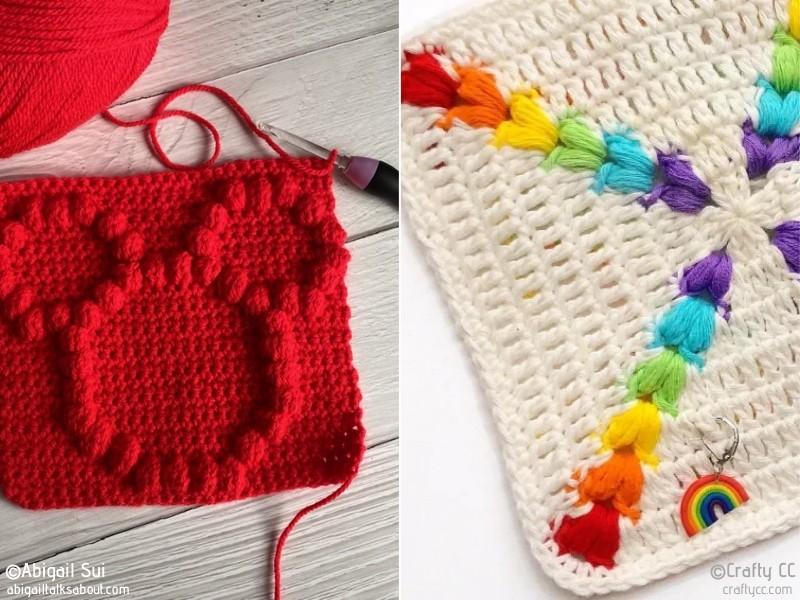 Crochet Puff Stitch Ideas