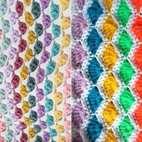 Crochet Shell Blankets Free Patterns