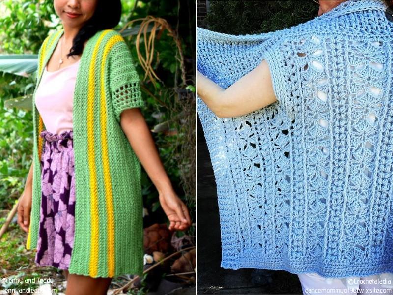 Crochet Summer Cardigans