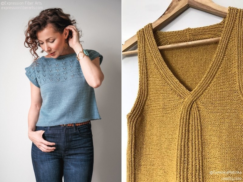 Delicate Knit Tops