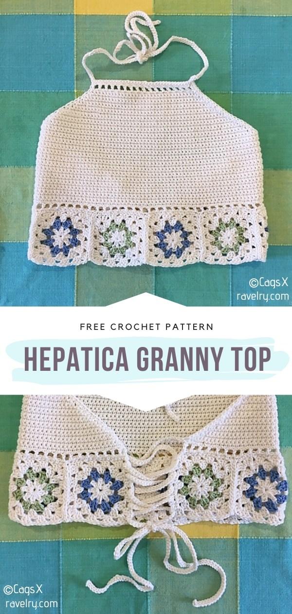 Granny Crochet Top