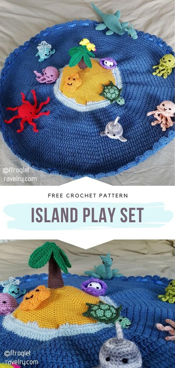 Crocheted Playset