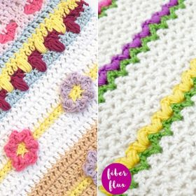Lovely Spring CALs Free Crochet Patterns