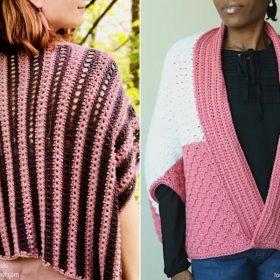 Pretty Pink Shrugs Free Crochet Pattern