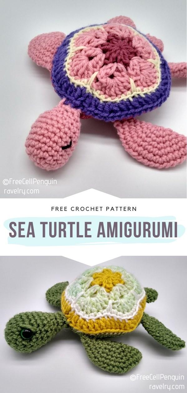 Sea Turtle Amigurumi