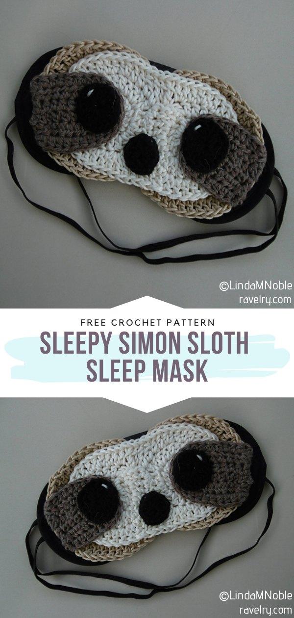 Crochet Sleep Mask