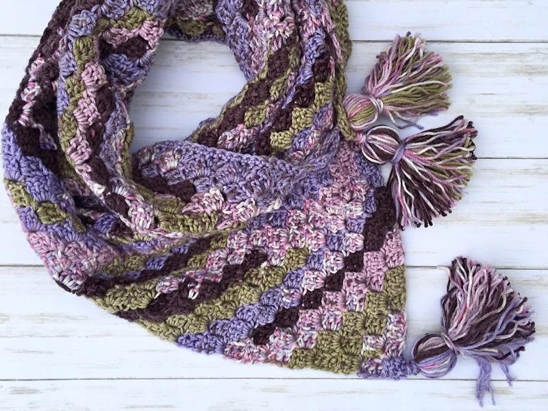 Tasteful Triangle Scarves Free Crochet Patterns