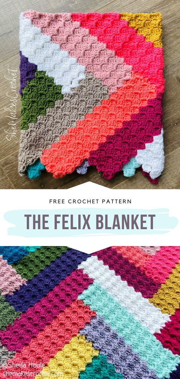 The Felix Crochet Blanket