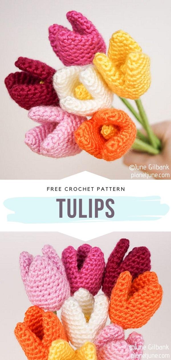 Amigurumi Tulips