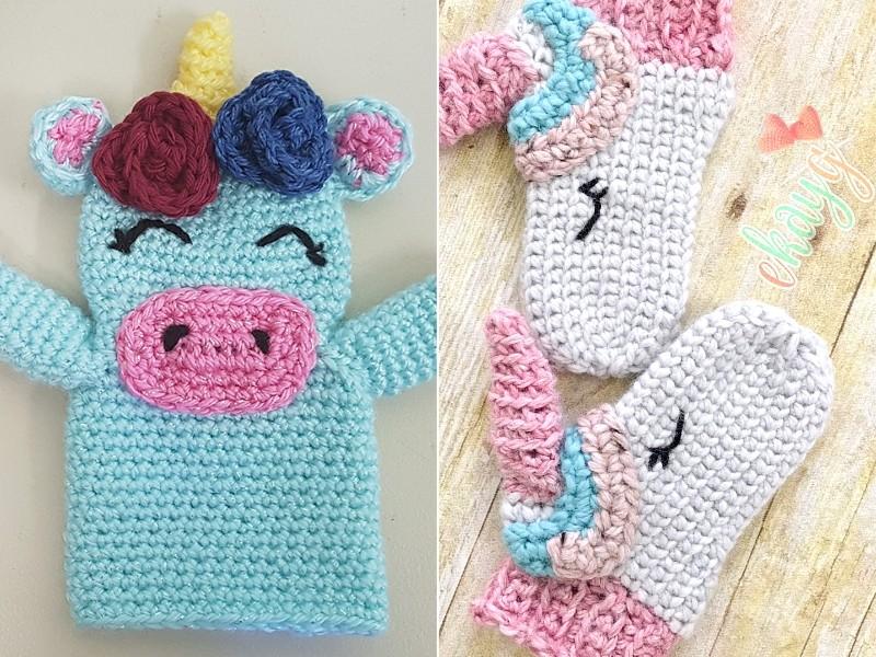 Unicorn Inspired Crochet Free Patterns