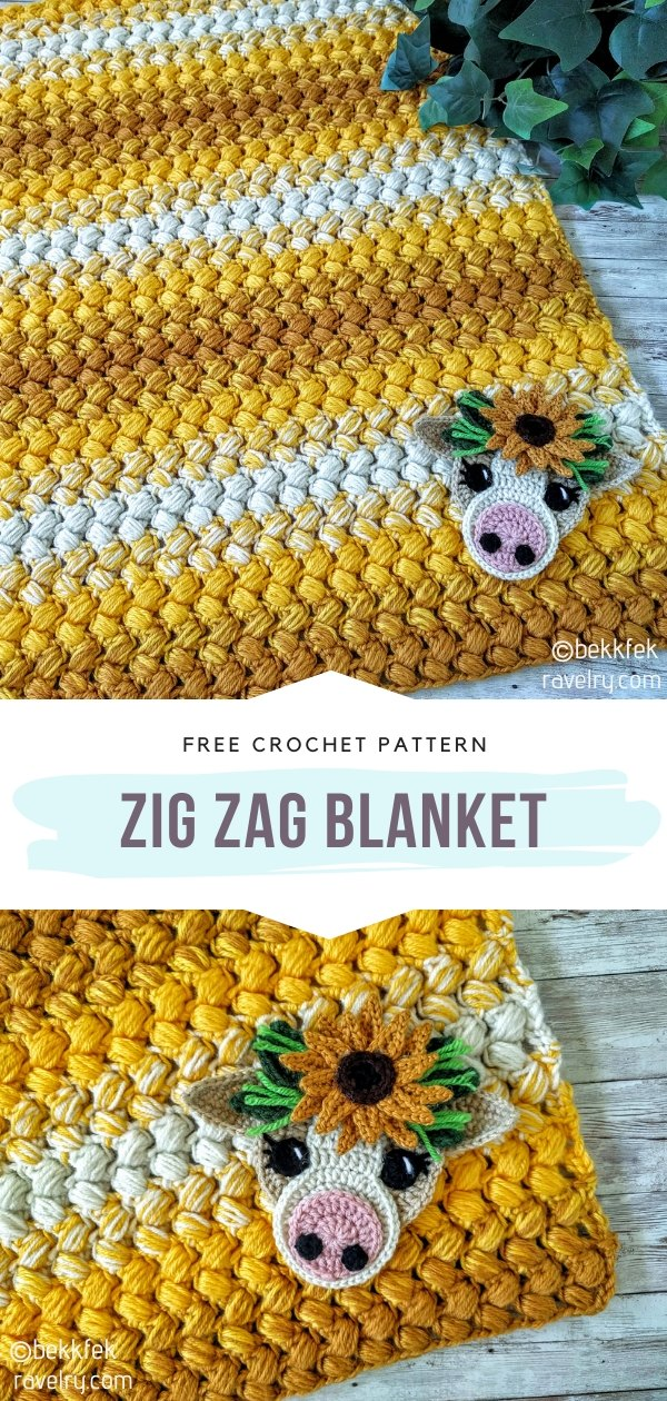 Zig Zag Crochet Blanket