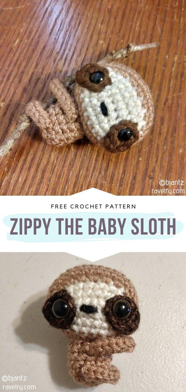 Little Amigurumi Sloth
