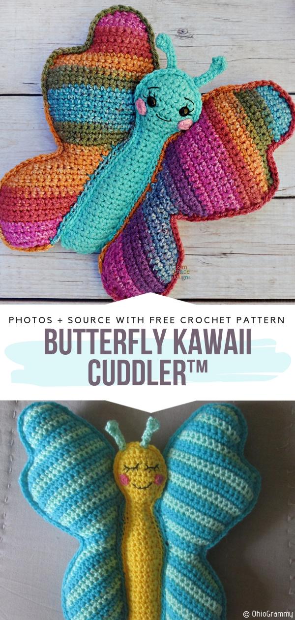 Butterfly Kawaii Cuddler™