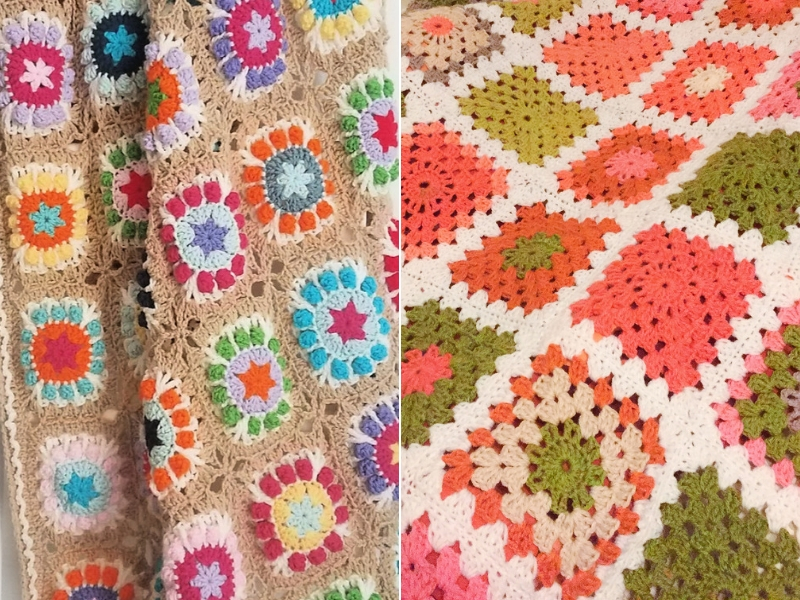 Classic Granny Blankets Free Crochet Patterns