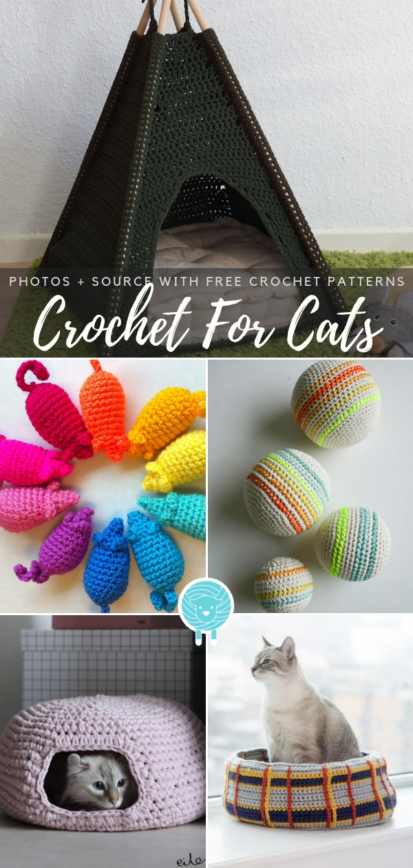 Crochet For Cats Free Patterns
