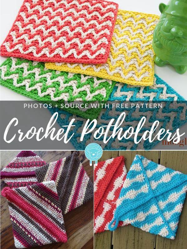 Crochet Potholders Free Patterns