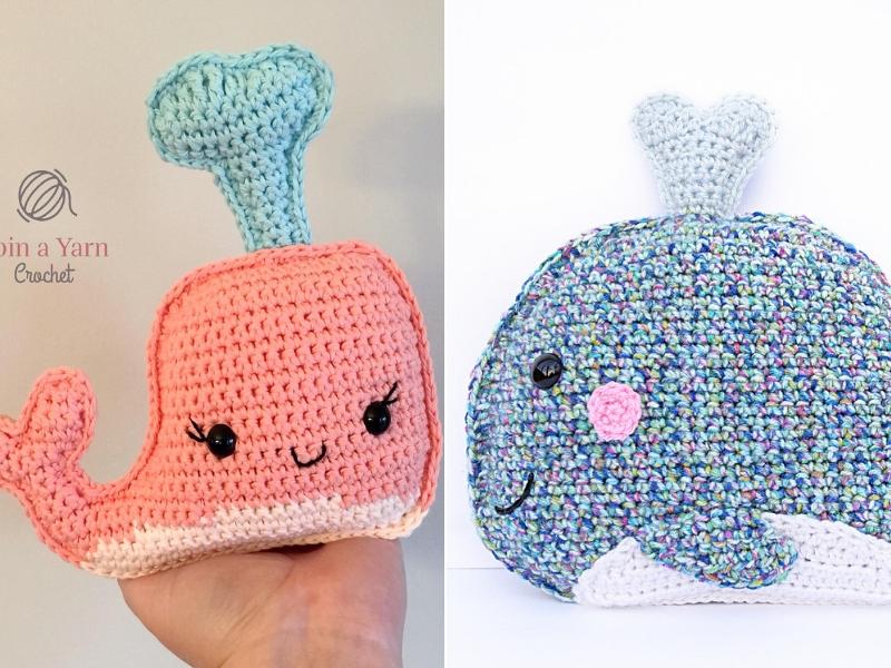 Blue Whale Free Crochet Pattern by Elisa's Crochet | Crochet whale, Crochet  patterns, Amigurumi pattern | 600x800