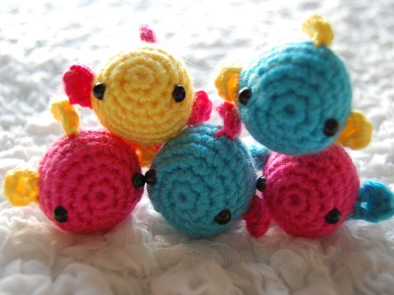 Cute Fish Amigurumi Free Crochet Patterns